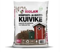 Biolan Barkströ för Komposten och Torrklosetten